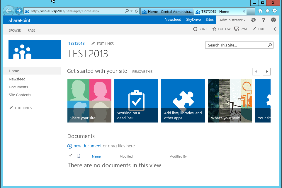SharePoint 2013 A Quick Look -