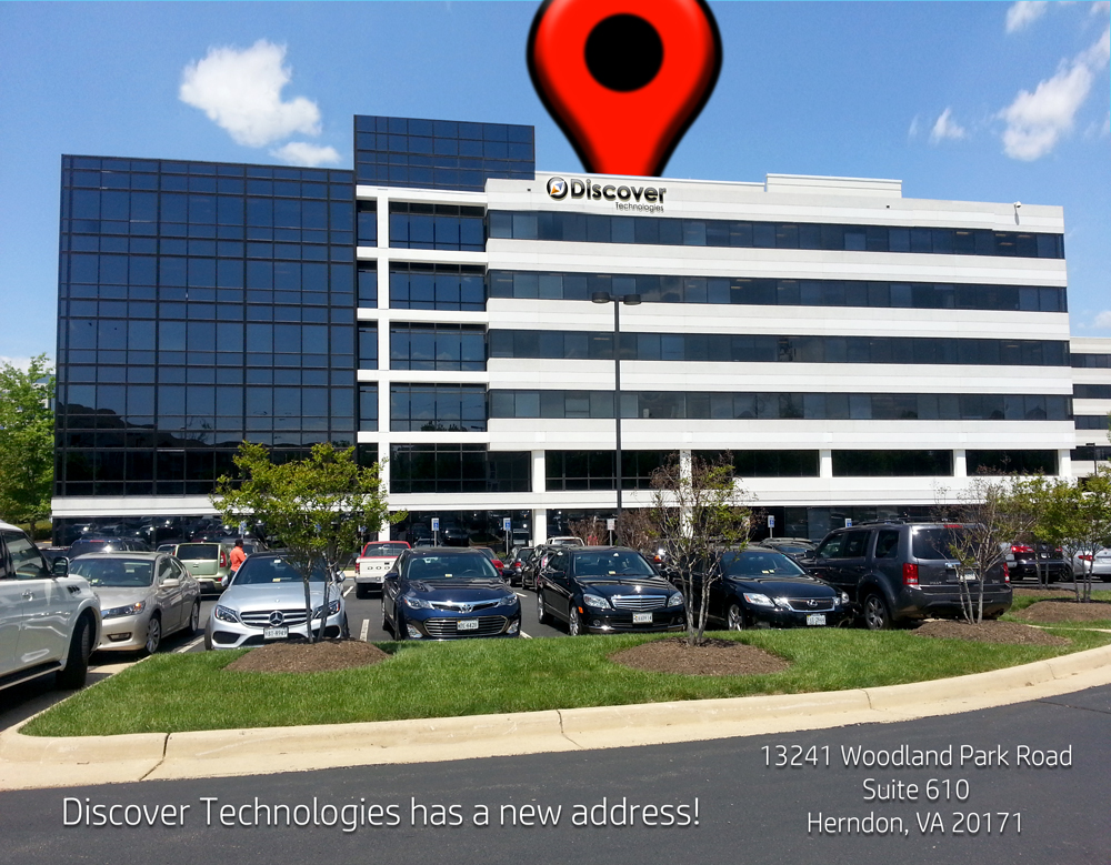 Discover Technologies new location