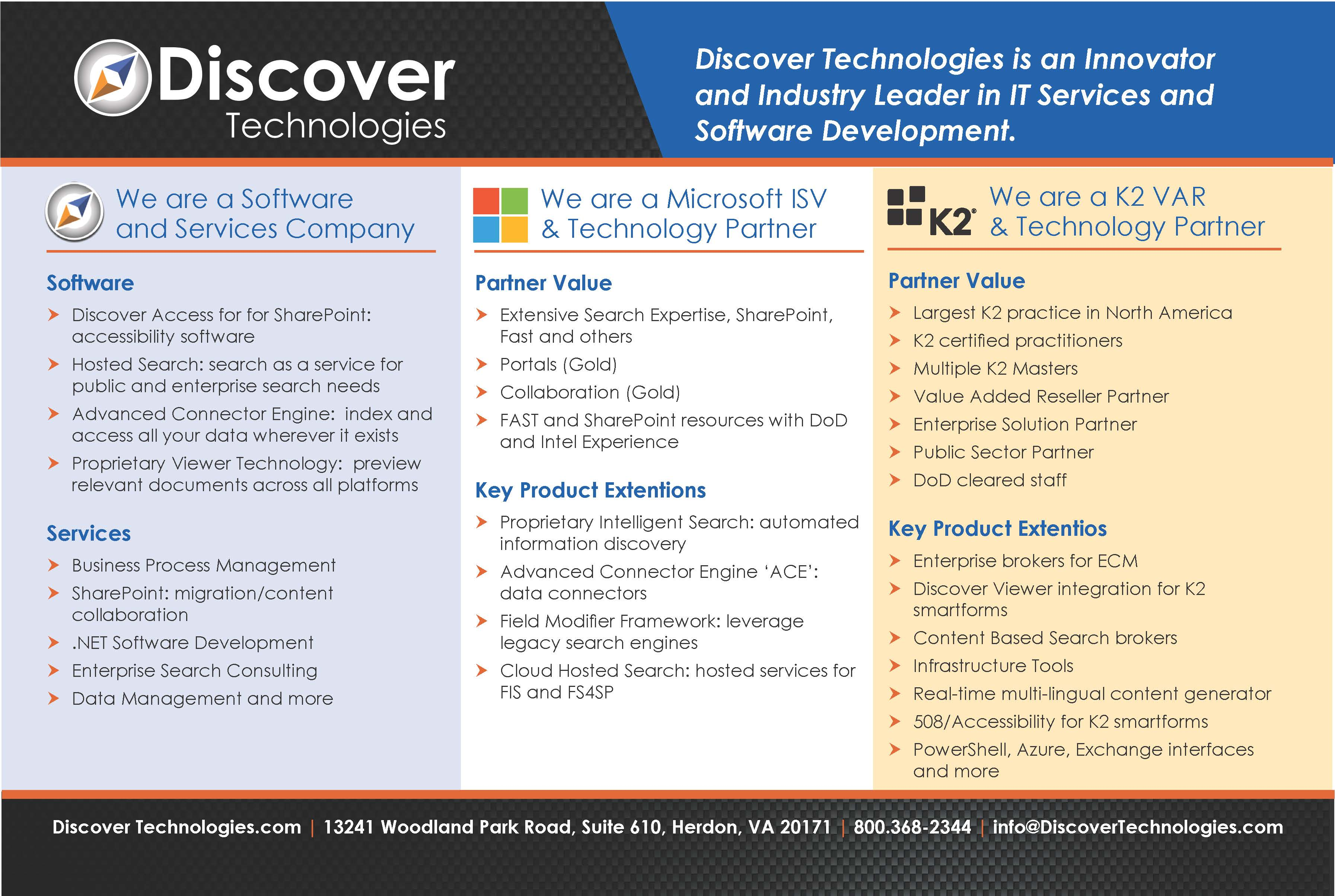 Enterprise Search Software Experts | Discover Technologies