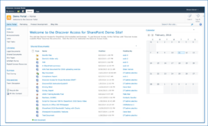 Native SharePoint View