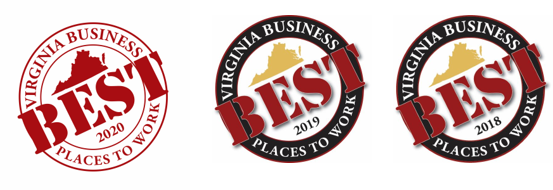 Virginia Business Best Places to Work logo